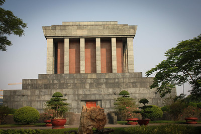 mausoleum of Ho Chi Minh