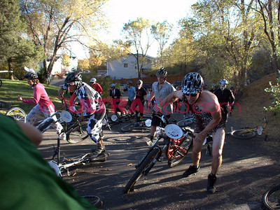 WMBA Halloween Bike Crit Start