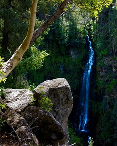 Barr Falls, just off Crater Lake Highway (OR 68). Howard Neckel