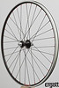 Alchemy hub<br /> Velocity A23 rim (made in Florida)<br /> Sapim Race spokes<br /> alloy nipples<br /> 32 spokes 2X/3X pattern