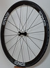 Alchemy hubs<br /> Enve Composites 45mm clincher rims<br /> Sapim CX-Ray spokes