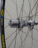 Chris King R45 hub<br /> Mavic Reflex Ceramic rim<br /> Sapim Laser/Race spokes<br /> brass nipples<br /> 28 spoke count