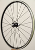 Chris King R45 hubs<br /> Pacenti SL23 rims<br /> Sapim CX-Ray/CX-Speed spokes<br /> alloy nipples<br /> Stan's Yellow tape