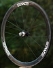 Alchemy Hubs<br /> Enve Composites 45mm clinchers<br /> Sapim CX-Ray spokes (Wheelsmith DB 14 for right side)