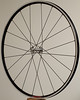 Alchemy hub<br /> Velocity A23 rim (made in Florida)<br /> Sapim CX-Ray spokes<br /> alloy nipples<br /> 20 spokes 2 cross pattern