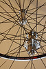 Alchemy hubs<br /> Velocity Major Tom rims<br /> Sapim CX-Ray/Wheelsmith DB14 spokes