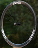 Alchemy Hubs<br /> Enve Composites 45mm clinchers<br /> Sapim CX-Ray spokes