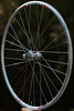 White Industries H2 hub<br /> DT RR465 rim<br /> Sapim Race spokes<br /> brass nipples