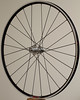 Alchemy hub<br /> Velocity A23 rim (made in Florida)<br /> Sapim CX-Ray spokes<br /> alloy nipples<br /> 24 spokes 2 cross pattern