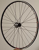 Velocity A23 rims<br /> Alchemy hubs<br /> Wheelsmith DB14 spokes<br /> alloy nipples