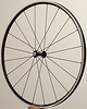 Alchemy hub<br /> Velocity A23 rim (made in Florida)<br /> Sapim CX-Ray spokes<br /> alloy nipples<br /> 20 spokes radial pattern
