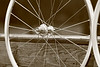 Alchemy hubs<br /> Kinlin XR-270 rims<br /> Sapim CX-Ray/Wheelsmith DB14 spokes
