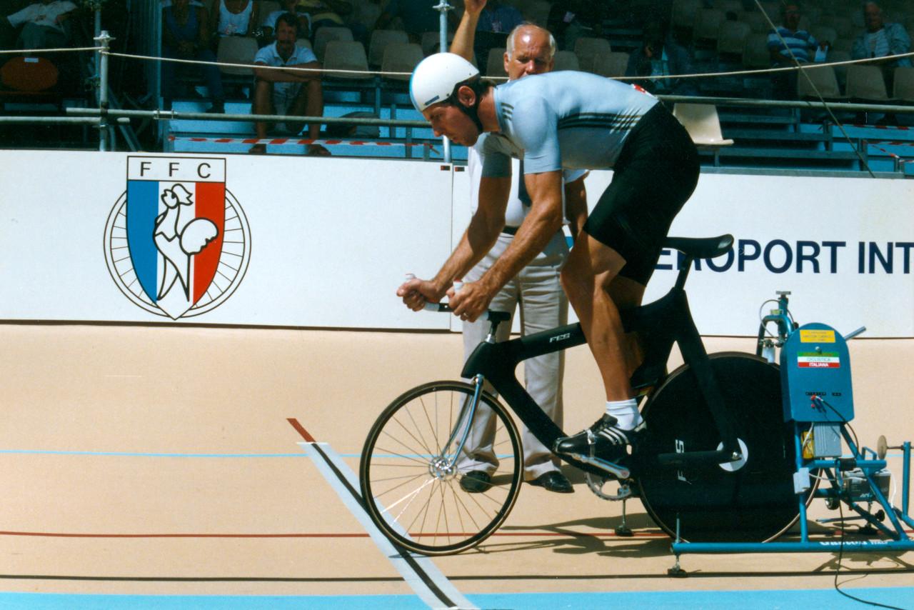 4000m Pursuit (GDR) Lyon 1989 (1)