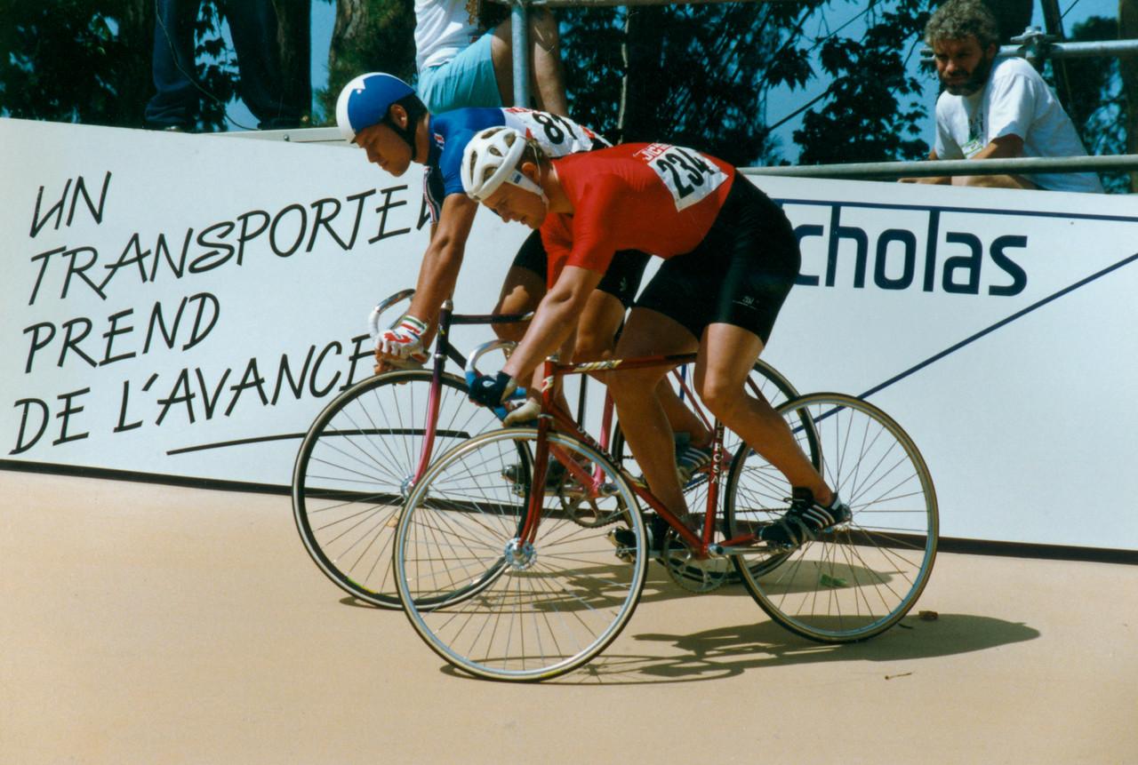 France Vs Soviet Union Sprinters 1989 World Championships, Lyon (1)