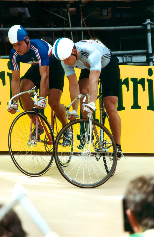Bill Huck (GDR) vs Frederic Magne (FR) Semi Final Lyon 1989 Word Champs