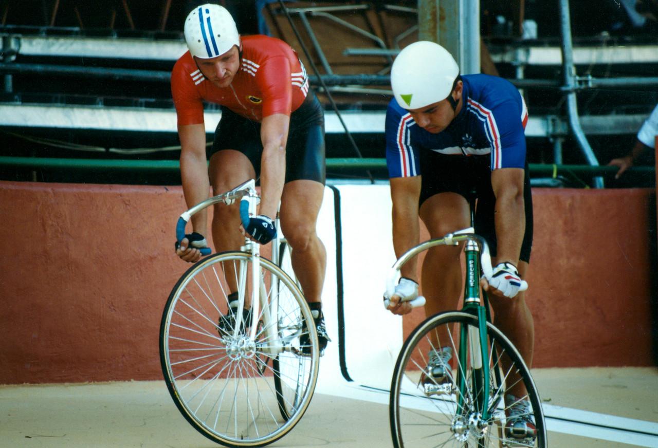 Nikolai Kovche  (USSR) vs Frederic Magne 3rd 4th Ride Off Lyon 1989 Word Champs (1)