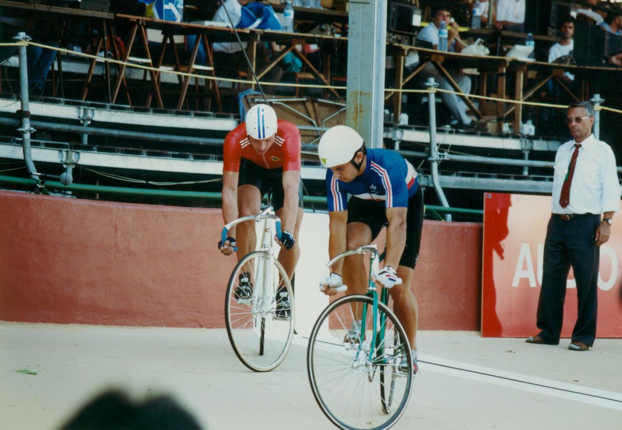 Nikolai Kovche  (USSR) vs Frederic Magne 3rd 4th Ride Off Lyon 1989 Word Champs