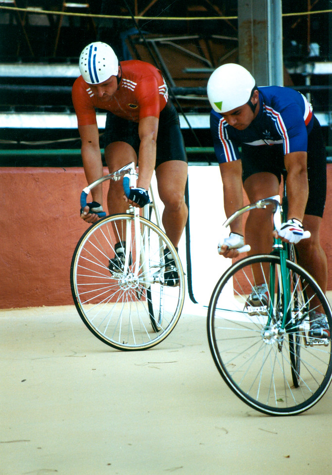 Nikolai Kovche  (USSR) vs Frederic Magne 3rd 4th Ride Off Lyon 1989 Word Champs (3)