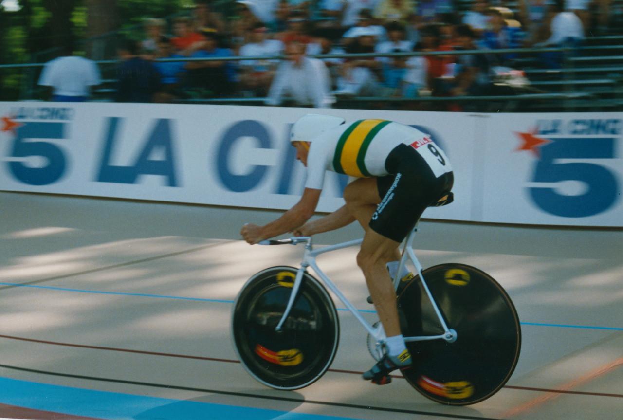 Dean Woods (AUS) Lyon 5000m Final 1989 (1)