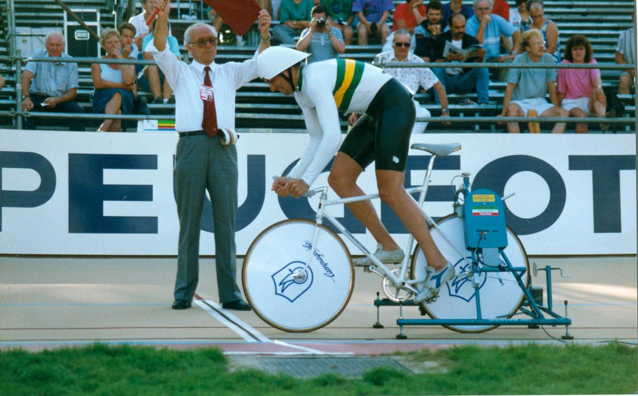 4000m Pursuit (AUS) Lyon 1989 (2)