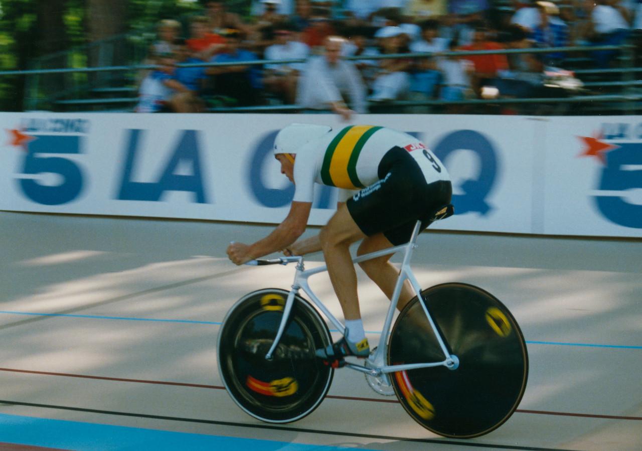 Dean Woods (AUS) Lyon 5000m Final 1989 (2)