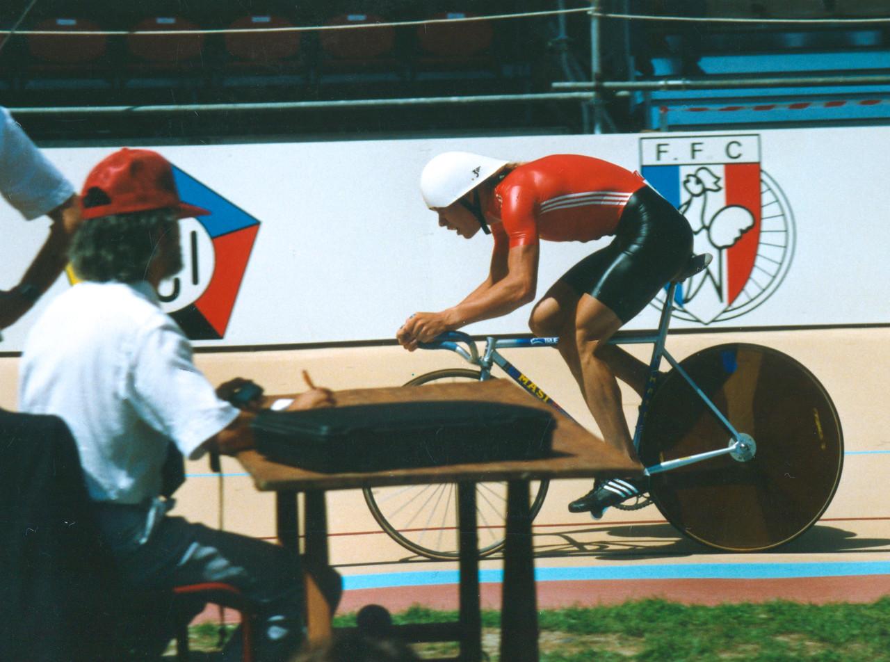 Viatcheslav Ekimov 4000m Individual Pursuit 1989 World Championships, Lyon