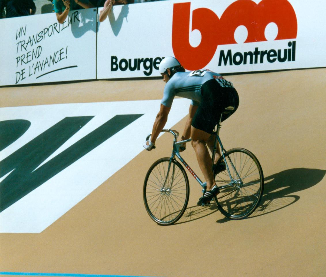 Michael Hübner East German Sprinter 1989 World Championships, Lyon