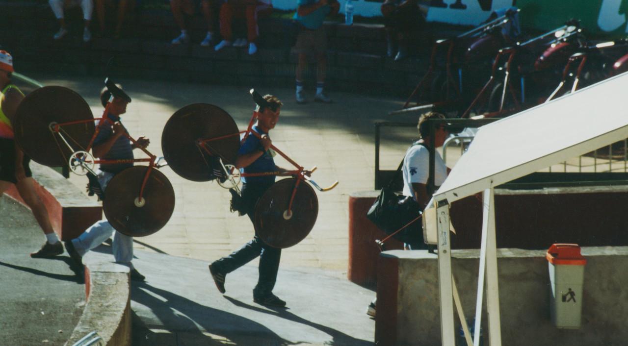 USSR Team Pursuit Bikes World Championships Lyon 1989