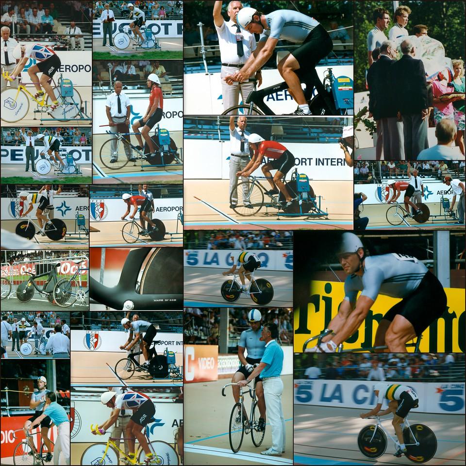 World Track Cycling Championships, Lyon, France, 1989-1