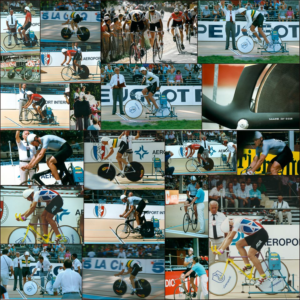 World Track Cycling Championships, Lyon, France, 1989