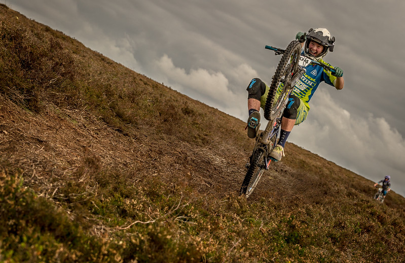 at British Enduro Series, Scotland on 08/10/2016 by Dan Wyre Photography which can be found at Copyright 2016 Dan Wyre Photography, all rights reserved Man pulled from the sea.