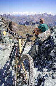 Ross Hewitt at Col du Lauson, Gran Paradiso, Italy