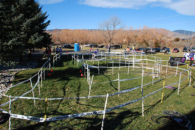 Tom Danielson set up a special course for the youngest riders that were on striders, training wheels, or just learning to balance on his front yard.  @2011davidhunter