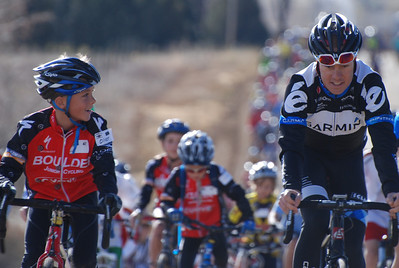 10 year old Oliver Hart is excited to ride up front with Tom Danielson  @2011deirdremoynihan