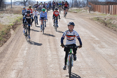 9 year old Mason Ball from California was visiting friends for Thanksgiving and got to join the ride. One of the best moments of the day was when Mason passed Tom Danielson and then realized he was at the front of the pack.  @2011deirdremoynihan