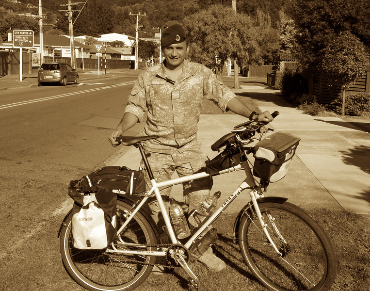 Wiremu, New Zealand Army Cycling Corps Apr 2016