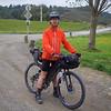 Tomas riding the Tour Aotearoa 2018