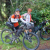 Sarah and Noel from Blenheim riding the Tour Aotearoa 2018
