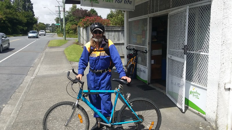 Ged (Gerard) Akatarawa Road, Upper Hutt, Dec 2014