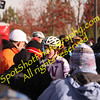 Zach McDonald swarmed after winning 2009 Collegiate Cyclocross Championships, Bend OR