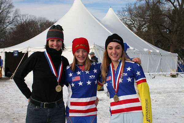 Wisconsin's own National Champions - Patti, Katie, and Samantha.