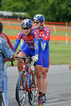 2005 Michigan UCI Cyclocross Race - Matt Kelly and Jacob Stechman, Alan Factory Team