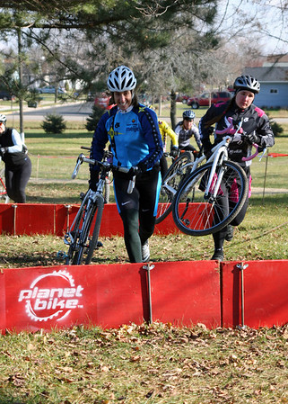 2007 Angell Park Cyclocross - Cat 4 Women, Jrs