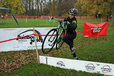 2007 Estabrook Cyclocross - Cat 4 Women, Jrs