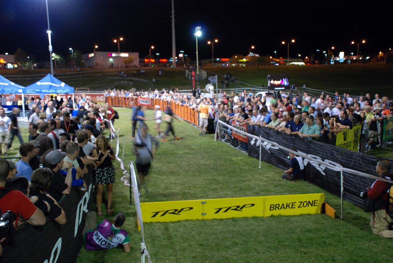 Large Crowd at Cross Vegas