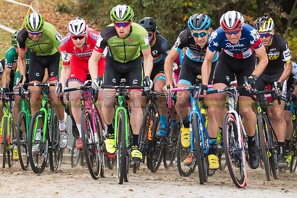 Start of the men's race.