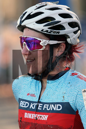 Jennifer Malik (58) competes in the NC Cyclocross North Carolina Grand Prix at Jackson Park in Hendersonville, N.C., on Nov. 24, 2019
