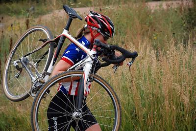 Katie Compton, Pikes Peak Velo SuperCross Sept. 12, 2009