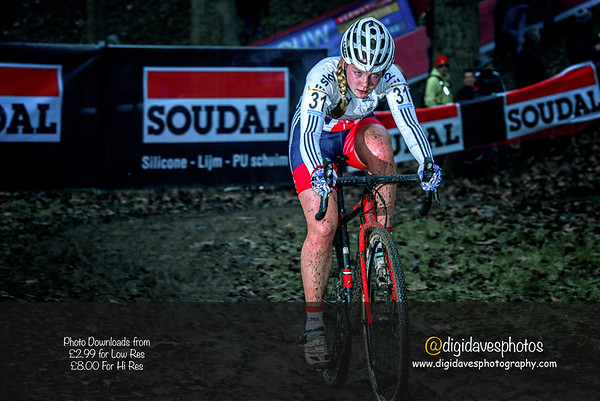 Telnet UCI World  Cross Namur Belgium, Women 18/12/2016