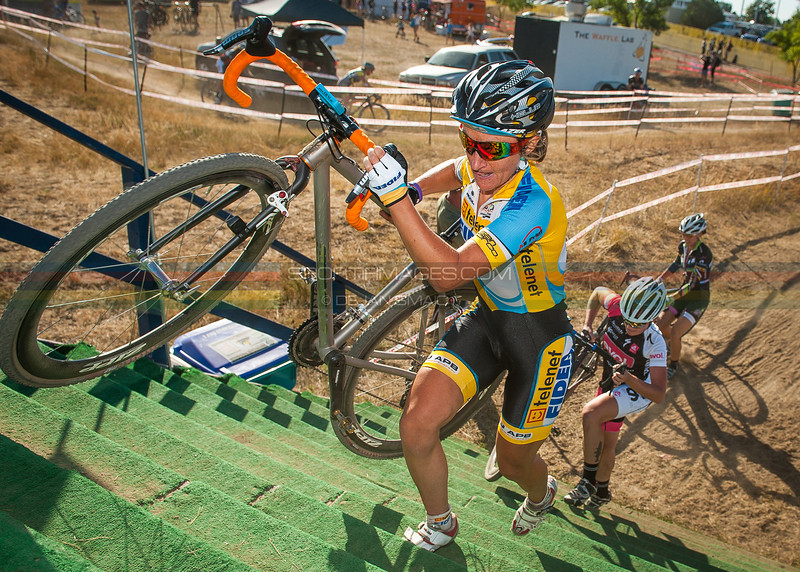 American World Cup cyclocross racer, Amy Dombroski, was killed during a training accident in Belgium.